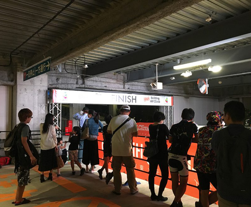 ダイバーシティ東京・ビルクライム2017 【観客編】
