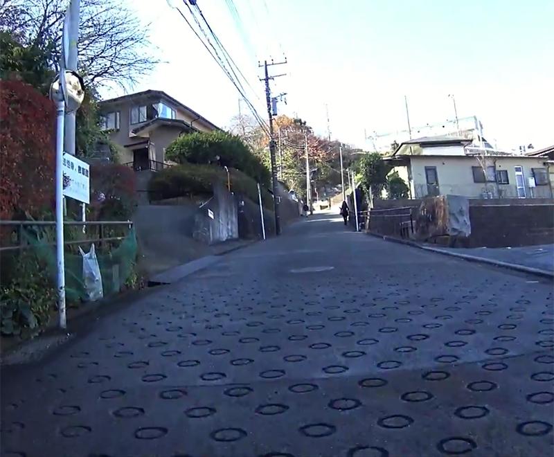 【横浜 坂シリーズ】アンドウスポーツより明神台保育園へGO(距離:0.3km 平均勾配:13%)