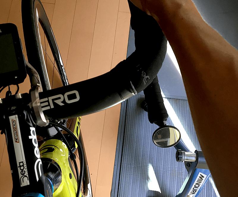 ロードバイクにサイドミラーの必要性